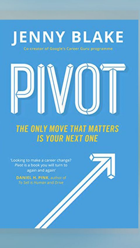 Pivot by Jenny Blake - GeoModes books